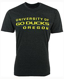 Colosseum Men's Oregon Ducks Verbiage Stack T-Shirt