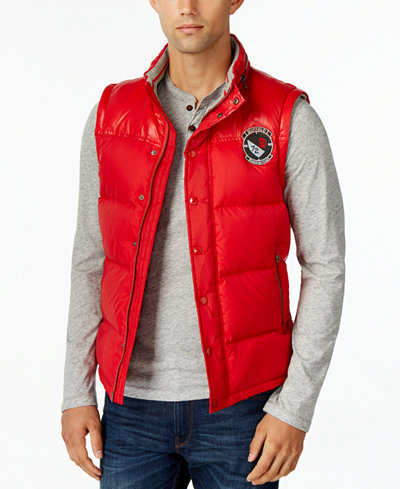 Buffalo David Bitton Mens Solid Compact Vest A Macy 39 S