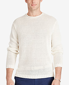 Polo Ralph Lauren Men's Linen Roll-Neck Sweater