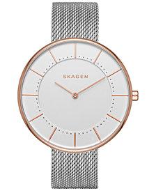 Skagen Women's Two-Tone Stainless Steel Mesh Bracelet Watch 38mm SKW2583