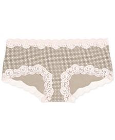 Maternity Lace-Trim Girl Shorts