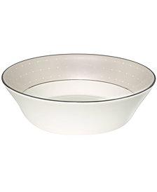 Monique Lhuillier Waterford Dinnerware, Etoile Platinum All Purpose Bowl