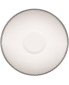 Monique Lhuillier Waterford Dinnerware, Dentelle Tea Saucer