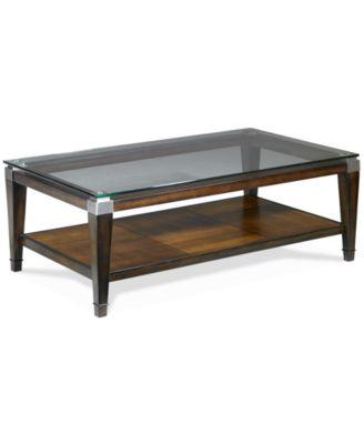 Silverado Rectangular Coffee Table Furniture Macys