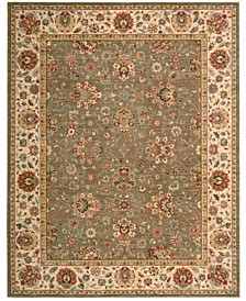 """Persian Legacy PL03 Olive 5'6"""" x 8'3"""" Area Rug, Created for Macy's"""