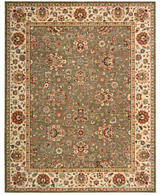 "Nourison Area Rug, Created for Macy's, Persian Legacy PL03 Olive 5' 6"" x 8' 3"""