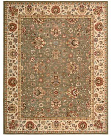 """Nourison Area Rug, Created for Macy's, Persian Legacy PL03 Olive 5' 6"""" x 8' 3"""""""