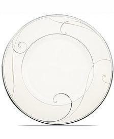 Noritake Dinnerware, Platinum Wave Dessert Plate