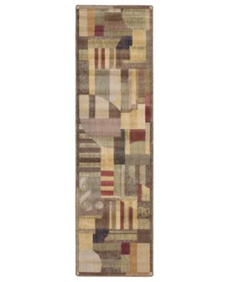 "CLOSEOUT! Area Rug, Somerset ST22 Clarkstown Multi 2' x 5' 9"" Runner Rug"
