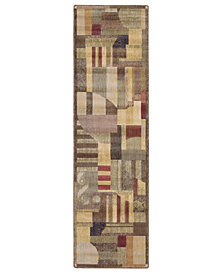 "CLOSEOUT! Nourison Area Rug, Somerset ST22 Clarkstown Multi 2' x 5' 9"" Runner Rug"