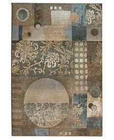"""Oriental Weavers """"Genesis"""" 511Z1 Area Rug, 8' Square"""