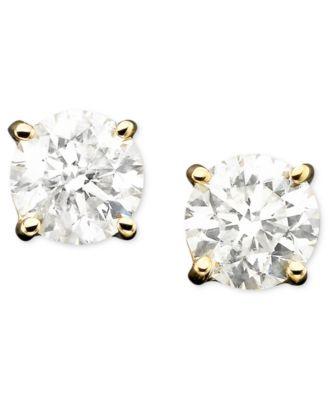 Diamond Stud Earrings in 14k Gold (1 ct. t.w.)