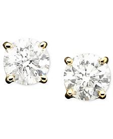 Diamond Stud Earrings in 14k Gold (1/3 ct. t.w.)