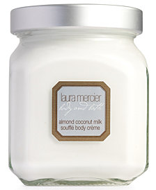 Laura Mercier Almond Coconut Milk Soufflé Body Crème, 12 oz.