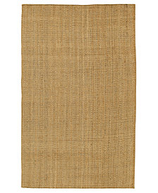 "Surya Area Rug, Natural Living JS-2 Brown 2' 6"" x 4'"