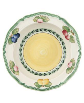 Dinnerware, French Garden Fleurance Rim Cereal Bowl