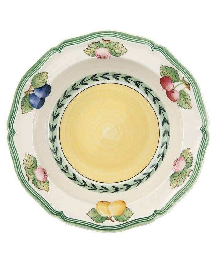 "Villeroy & Boch - ""French Garden"" Fleurance Rim Cereal Bowl"