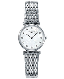 Longines Women's La Grande Classique Stainless Steel Bracelet Watch L42094876