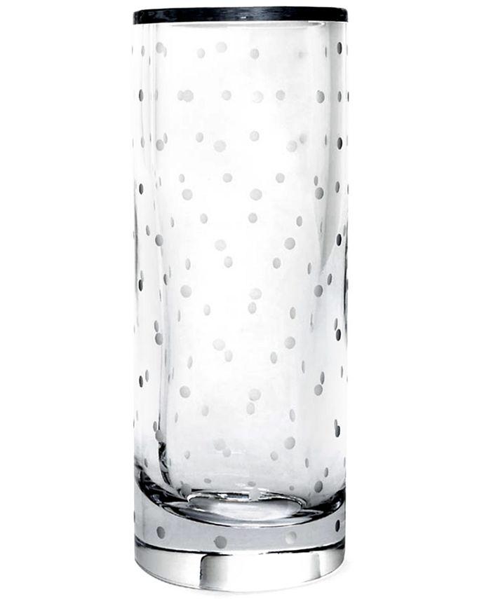 "kate spade new york - ""Larabee Dot"" Cylinder Vase, 10"""