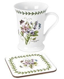 Dinnerware, Botanic Garden Mug and Coaster Set, Created for Macy's