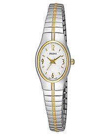 Pulsar Watch, Women's Stainless Steel Bracelet PC3092