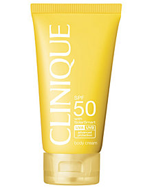 Clinique Sun SPF 50 Body Cream, 5 oz.