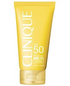 Clinique Sun SPF 50 Body Cream, 5 oz.