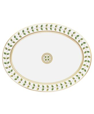 "Dinnerware, 13"" Constance Oval Platter"