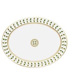 """Bernardaud Dinnerware, 13"""" Constance Oval Platter"""