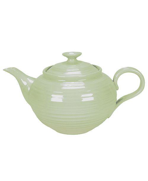 "Portmeirion ""Sophie Conran Sage"" Teapot, 2 Pt."