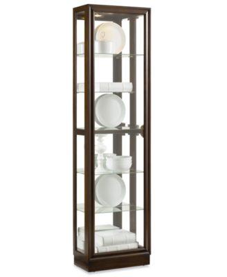 austin picture frame curio cabinet - furniture - macy's