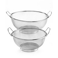 Set of 2 Martha Stewart Collection Mesh Colanders