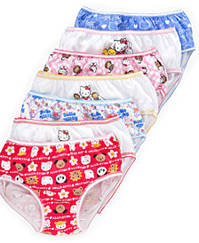 Hello Kitty 7-Pack Cotton Underwear, Little Girls & Big Girls