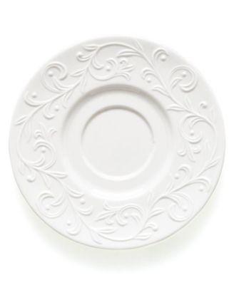 Dinnerware, Opal Innocence Carved Saucer