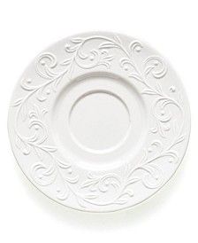 Dinnerware, Opal Innocence Carved Saucer