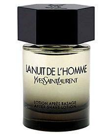 Yves Saint Laurent Men's La Nuit de L'Homme After-Shave Lotion, 3.3 oz.