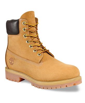 Timberland Men S 6 Quot Premium Waterproof Boots Shoes Men