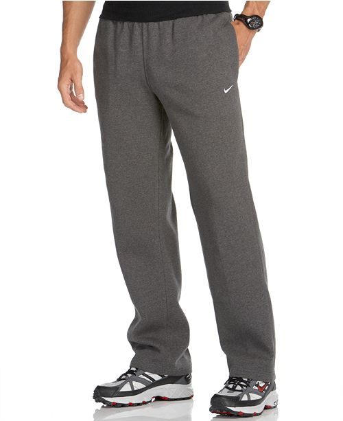 Nike Men's Classic Fleece Open-Hem Sweatpants