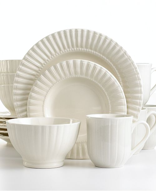 Thomson Pottery Maison 16-Pc. Set, Service for 4 - Fine China - Macy\'s
