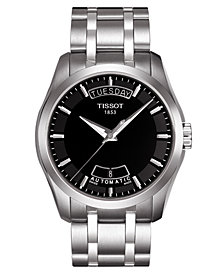 Tissot Men's Stainless Steel Bracelet Watch 39mm T0354071105100