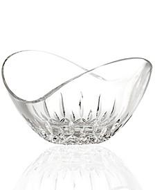 """Gifts, Lismore Essence Ellipse Crystal Bowl 8"""""""