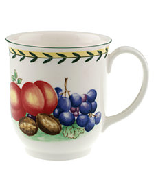 Villeroy and Boch Dinnerware, French Garden Fleurence Large Mug