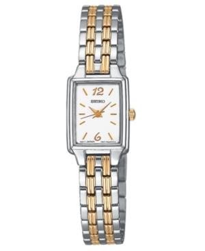 Seiko Women's Two-Tone Stainless Steel Bracelet Watch 24mm