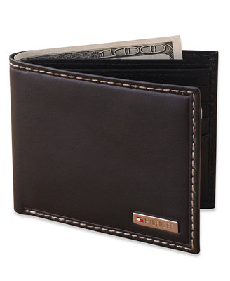 Tommy Hilfiger Leather Bifold Wallet Accessories