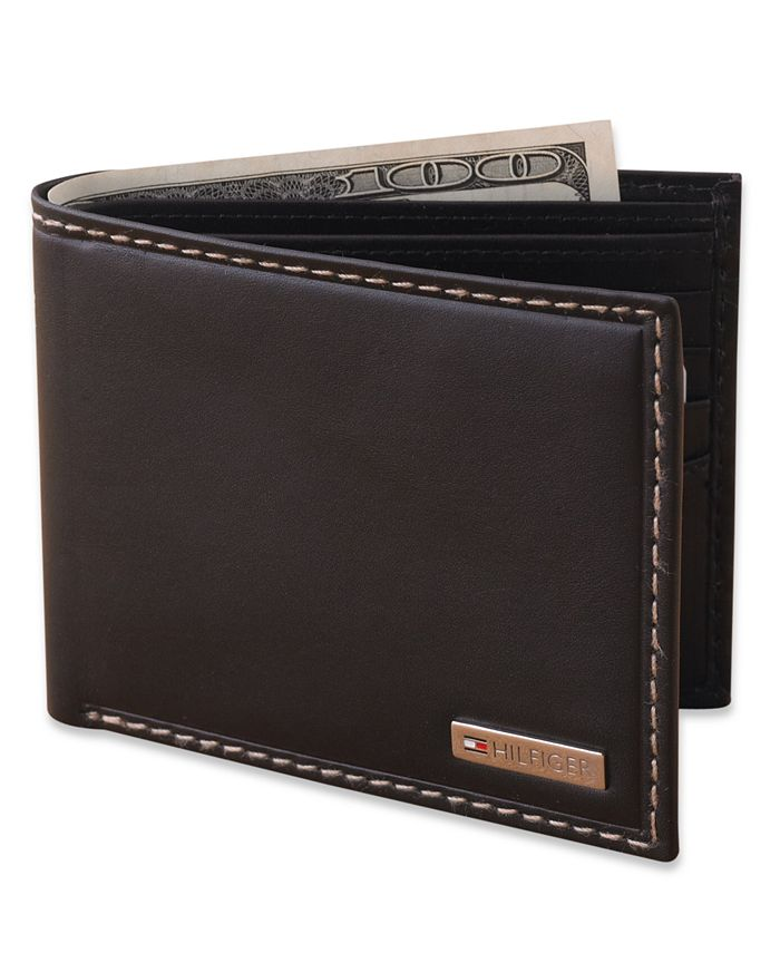 Tommy Hilfiger - Wallet, Leather Passcase Wallet