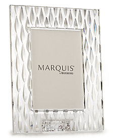 "Marquis by Waterford Picture Frame, Rainfall 5"" x 7"""