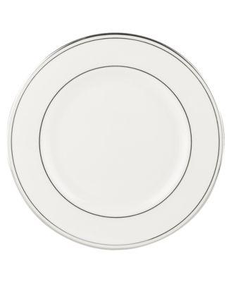 "Federal Platinum 8"" Salad Plate"