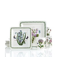 Deals on Portmeirion Botanic Garden Square 12-Piece Set Service for 4