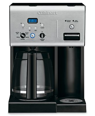 Cuisinart Coffee Maker Chw 12 : Cuisinart CHW-12 Coffee Maker, 12 Cup Programmable with Hot Water System - - Macy s