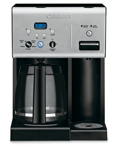 Cuisinart CHW-12 Coffee Maker, 12 Cup Programmable with Hot Water System - Coffee, Tea ...